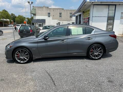 2018 Infiniti Q50 for sale at Sincere Motors LLC in Baltimore MD