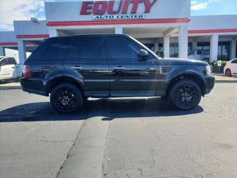 2009 Land Rover Range Rover Sport for sale at EQUITY AUTO CENTER in Phoenix AZ