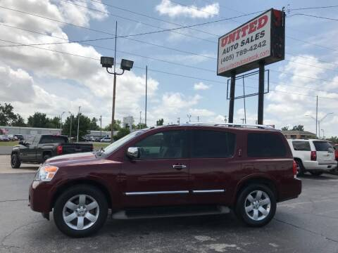 2012 Nissan Armada for sale at United Auto Sales in Oklahoma City OK