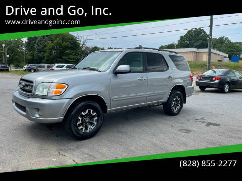 2004 Toyota Sequoia for sale at Drive and Go, Inc. in Hickory NC