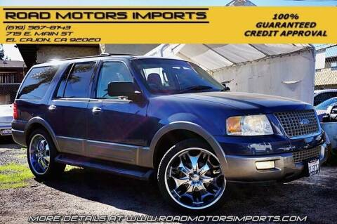 2003 Ford Expedition for sale at Road Motors Imports in El Cajon CA
