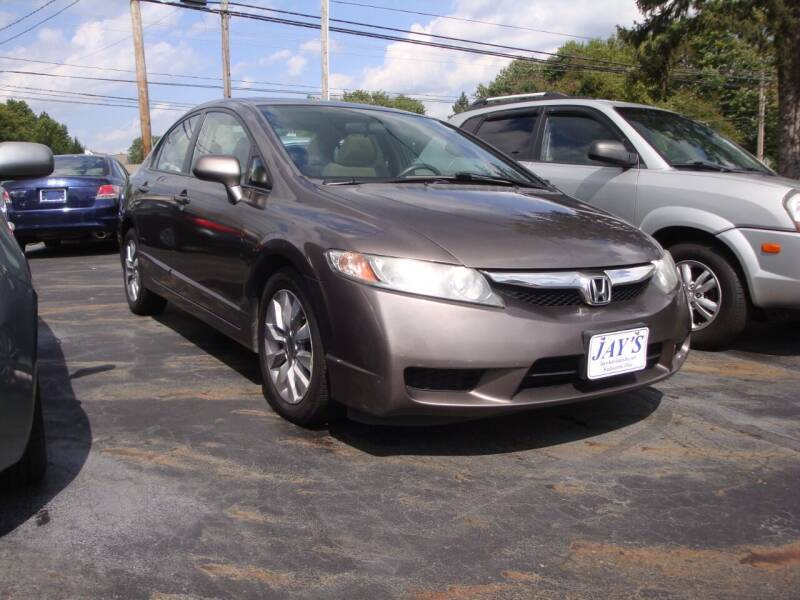 2010 Honda Civic for sale at Jay's Auto Sales Inc in Wadsworth OH