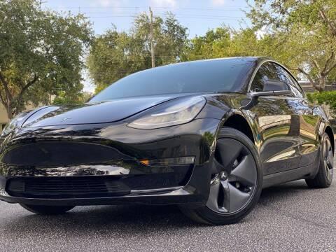 2018 Tesla Model 3 for sale at HIGH PERFORMANCE MOTORS in Hollywood FL