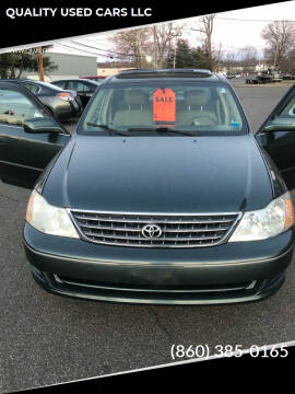 2003 Toyota Avalon for sale at QUALITY USED CARS LLC in Wallingford CT