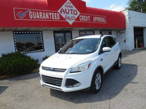 2015 Ford Escape for sale at Oak Park Auto Sales in Oak Park MI