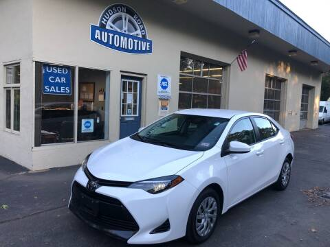 2018 Toyota Corolla for sale at HUDSON ROAD AUTOMOTIVE in Stow MA