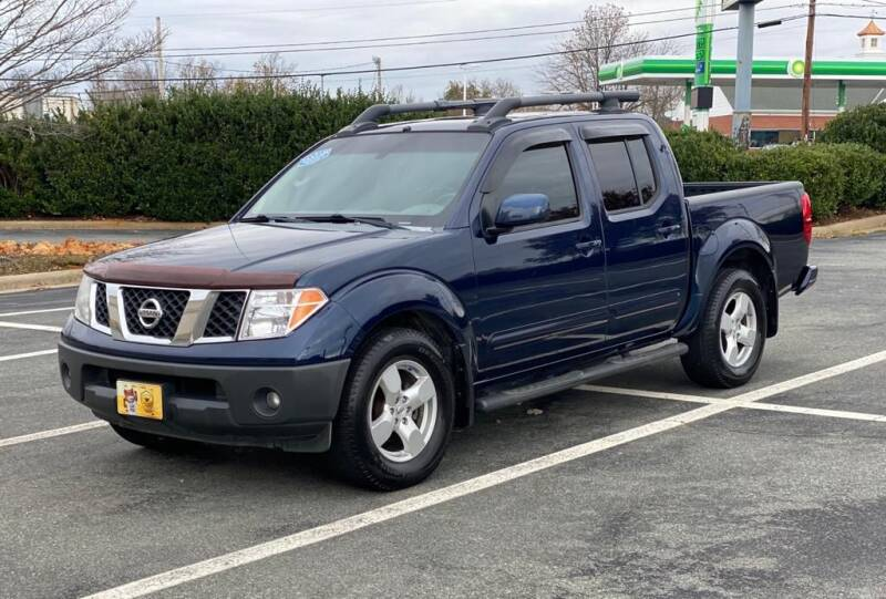 2008 Nissan Frontier for sale at RUSH AUTO SALES in Burlington NC