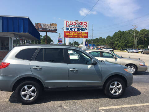 2008 Hyundai Santa Fe for sale at Deckers Auto Sales Inc in Fayetteville NC