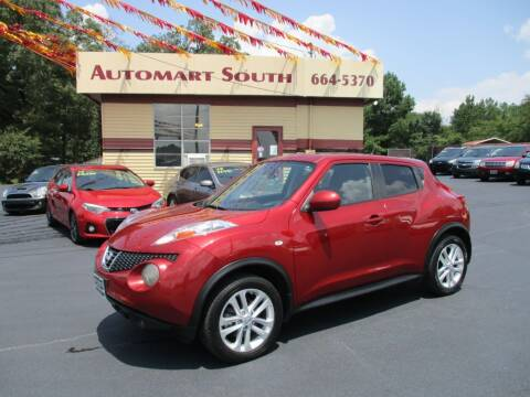 2013 Nissan JUKE for sale at Automart South in Alabaster AL