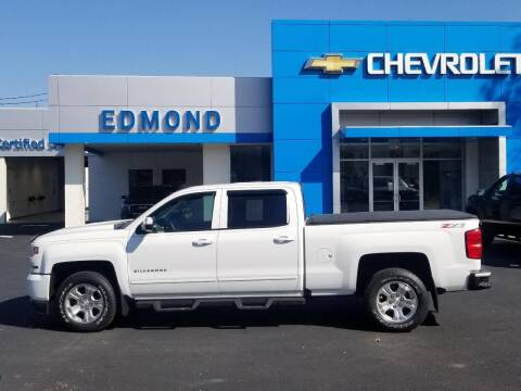 2016 Chevrolet Silverado 1500 for sale at EDMOND CHEVROLET BUICK GMC in Bradford PA