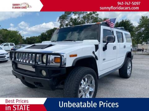 2003 HUMMER H2 for sale at Sunny Florida Cars in Bradenton FL
