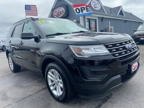 2017 Ford Explorer for sale at Cape Cod Carz in Hyannis MA