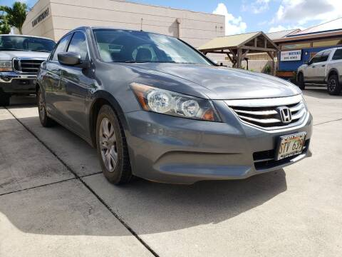 2012 Honda Accord for sale at Ohana Motors in Lihue HI