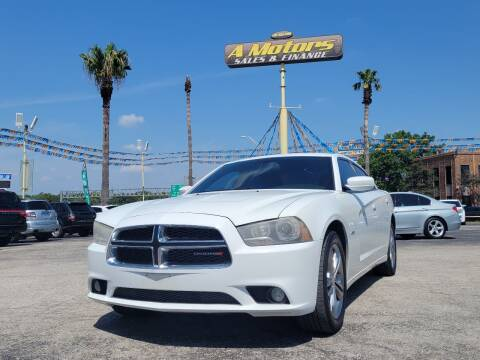 2013 Dodge Charger for sale at A MOTORS SALES AND FINANCE in San Antonio TX