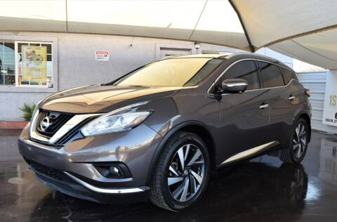 2015 Nissan Murano for sale at 1st Class Motors in Phoenix AZ
