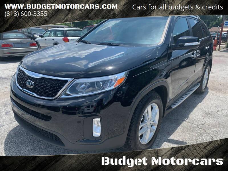 2015 Kia Sorento for sale at Budget Motorcars in Tampa FL