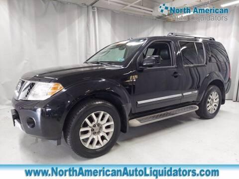 2011 Nissan Pathfinder for sale at North American Auto Liquidators in Essington PA