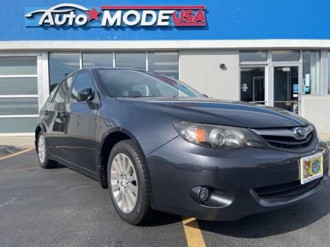 2011 Subaru Impreza for sale at Auto Mode USA of Monee in Monee IL