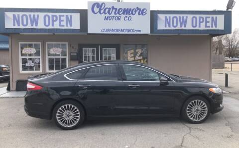 2016 Ford Fusion for sale at Claremore Motor Company in Claremore OK