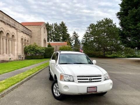 2003 Toyota Highlander for sale at EZ Deals Auto in Seattle WA
