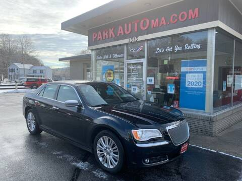 2014 Chrysler 300 for sale at Park Auto LLC in Palmer MA