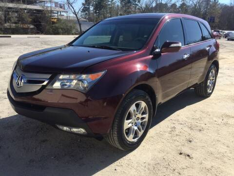 2009 Acura MDX for sale at Hwy 80 Auto Sales in Savannah GA