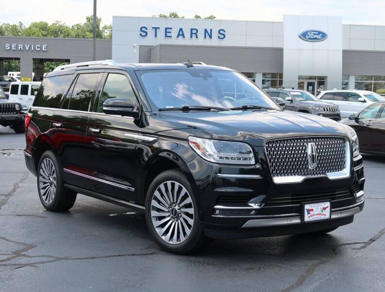 2018 Lincoln Navigator for sale at Stearns Ford in Burlington NC