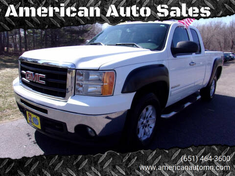 2009 GMC Sierra 1500 for sale at American Auto Sales in Forest Lake MN