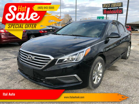 2017 Hyundai Sonata for sale at Ital Auto in Oklahoma City OK