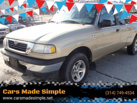 1999 Mazda B-Series Pickup for sale at Cars Made Simple in Union MO