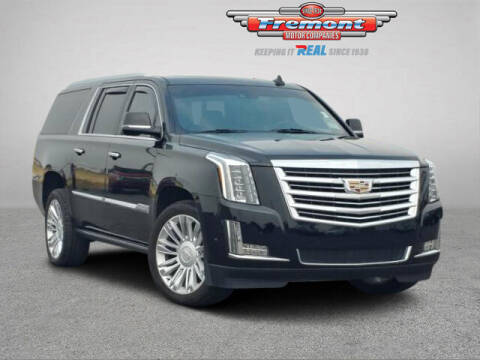 2017 Cadillac Escalade ESV for sale at Rocky Mountain Commercial Trucks in Casper WY