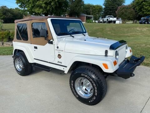 1998 Jeep Wrangler for sale at HIGHWAY 12 MOTORSPORTS in Nashville TN