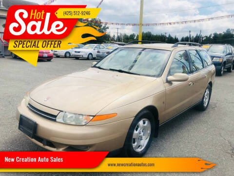 2002 Saturn L-Series for sale at New Creation Auto Sales in Everett WA