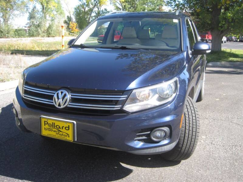 2012 Volkswagen Tiguan for sale at Pollard Brothers Motors in Montrose CO