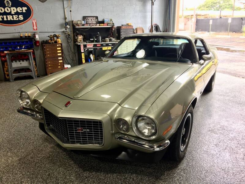 1971 Chevrolet Camaro for sale at Suncoast Sports Cars and Exotics in West Palm Beach FL