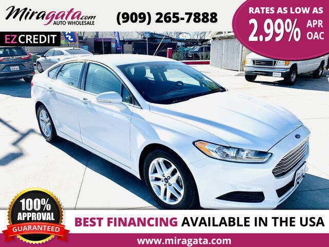2016 Ford Fusion for sale at Miragata Auto in Bloomington CA