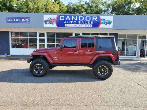 2012 Jeep Wrangler Unlimited for sale at CANDOR INC in Toms River NJ