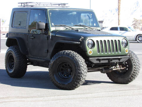 2007 Jeep Wrangler for sale at Best Auto Buy in Las Vegas NV