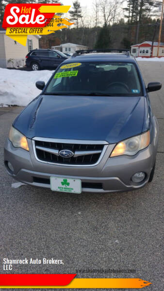 2009 Subaru Outback for sale at Shamrock Auto Brokers, LLC in Belmont NH