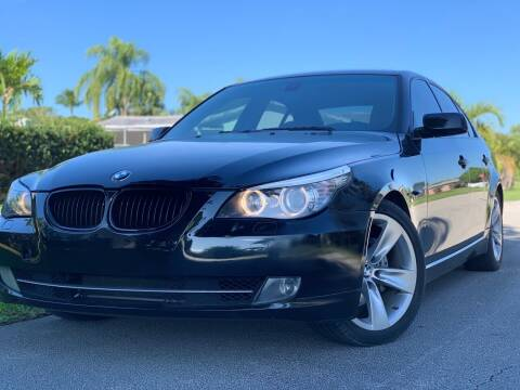 2008 BMW 5 Series for sale at HIGH PERFORMANCE MOTORS in Hollywood FL