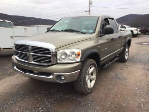 2007 Dodge Ram Pickup 1500 for sale at Troys Auto Sales in Dornsife PA