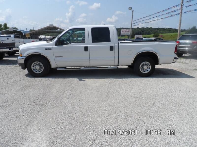 2002 Ford F-250 Super Duty for sale at Town and Country Motors in Warsaw MO