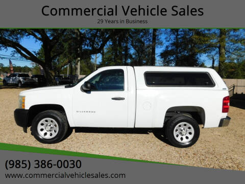 2010 Chevrolet Silverado 1500 for sale at Commercial Vehicle Sales in Ponchatoula LA