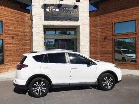 2016 Toyota RAV4 for sale at Hamilton Motors in Lehi UT