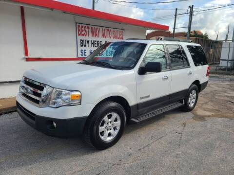 2007 Ford Expedition for sale at Best Way Auto Sales II in Houston TX