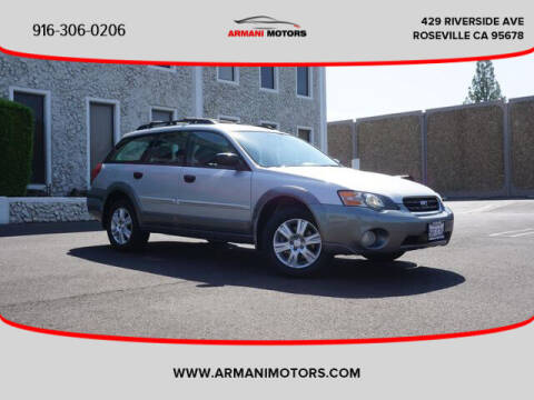 2005 Subaru Outback for sale at Armani Motors in Roseville CA
