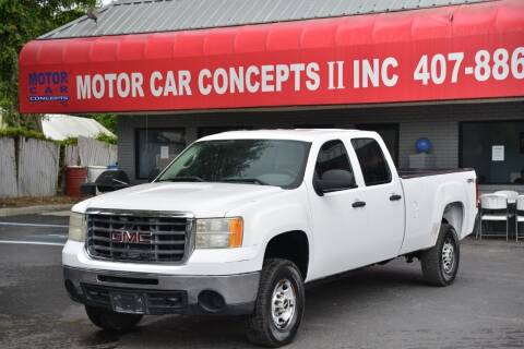 2007 GMC Sierra 2500HD for sale at Motor Car Concepts II - Apopka Location in Apopka FL