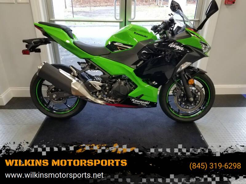 2020 Kawasaki Ninja 400 ABS for sale at WILKINS MOTORSPORTS in Brewster NY