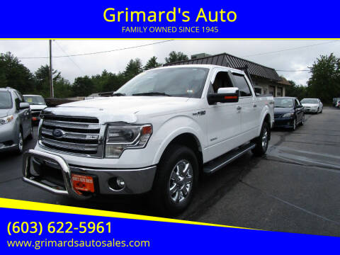 2014 Ford F-150 for sale at Grimard's Auto in Hooksett NH