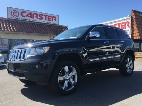 2011 Jeep Grand Cherokee for sale at CARSTER in Huntington Beach CA